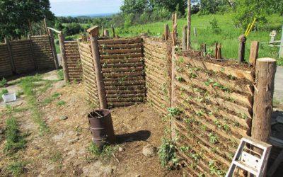 Farm Garden Wall